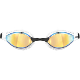 arena Airspeed Mirror Swimglasses yellow copper/white
